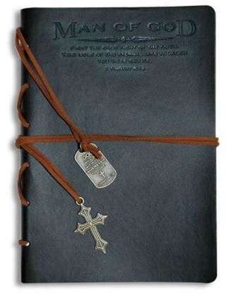 Picture of Man of God Leather Journal