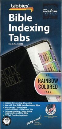 Picture of Tabbies Bible Indexing Tabs