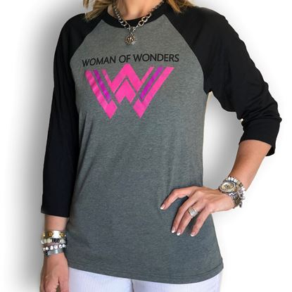 Picture of Woman of Wonders Baseball Tee
