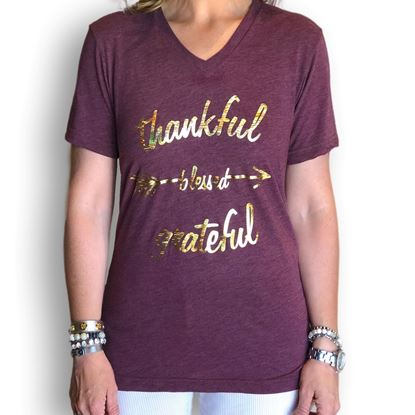 Picture of Thankful, Blessed, Grateful T-Shirt