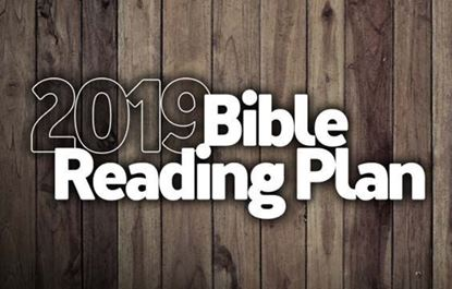 Picture of 2019 Chronological Bible Reading Plan